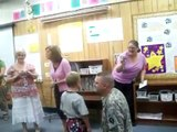 Dad, Home from Iraq, Surprises Son at School