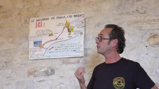 Intervention de Didier Latorre sur le projet TDN Thor d'Areva Malvési lors du Festival des luttes populaires 2017 à Armissan