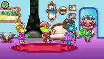 Mega Gummy Bear Baby Got Under the Car New Episode Finger Family Song Surprise Eggs Nursery Rhymes