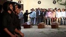 """أخت تريز - مشهد يجسد جنازة المسيحيين بمشاركة شيخ الازهر""""يا مبارك يا طيار قلب القبطى مولع نار"""""""
