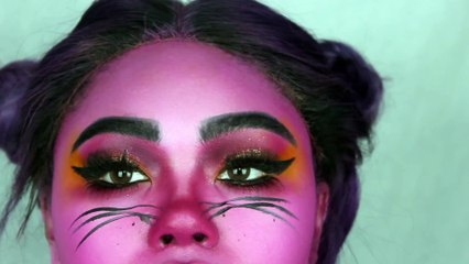 Pink Panther's Mistress| Easy Halloween Tutorial | KennieJD