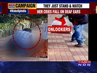 Shocker From Vizag: Woman Raped In Broad Daylight On Footpath, Onlookers Record Video