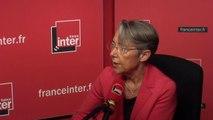 """Elisabeth Borne : """"Ma politique c'est de permettre une alternative à l'utilisation de la voiture particulière"""""""