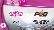 LFB 17/18 - J5 : Lyon / Charleville-Mézières