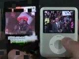 YP-T10 vs New iPod Nano!