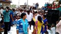 New telugu street recording dance video, young girls romantic dance performance