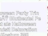 Halloween Party Trinkgefäß Blutbeutel Perfekt als Halloween Requisit Dekoration Kostüm