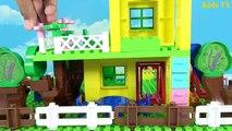 Peppa Pig And Masha and The Bear Blocks Mega House Construction Lego Sets Fun Toys For Kids #3