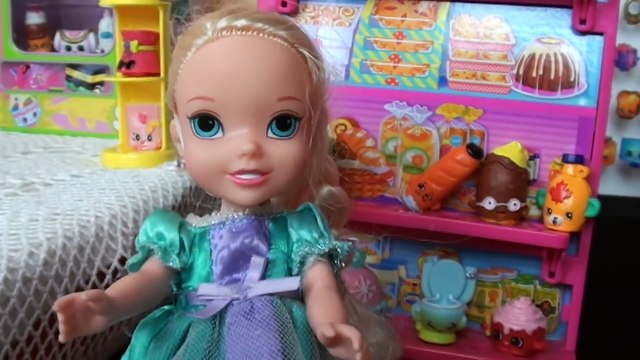 New Shopkins Shopping Spree Anna and Elsa Toddlers Season 4 Shopkins Collection Barbie Dolls