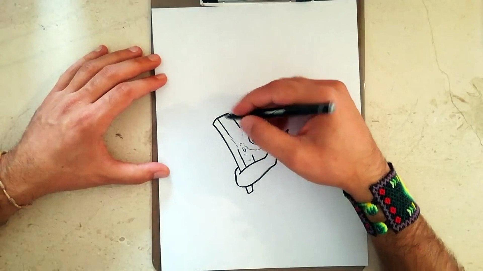 Como Dibujar Al Duende Lanza Dardos Clash Royale