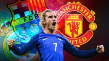 يورو بيبرز: غريزمان والاختيار الصعب بين برشلونة, ريال مدريد او مانشستر يونايتد