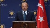Dışişleri Bakanı Mevlüt Çavuşoğlu ve Yunanistan Dışişleri Bakanı Nikos Kocias Ortak Basın...
