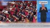 Edouard Philippe rend un vibrant hommage à Muriel Pénicaud qui reçoit une standing ovation