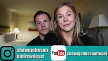 after the miscarriage - Shawn Johnson + Andrew East