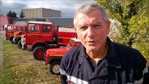 Vente aux enchères des véhicules pompiers