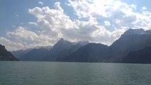 Dampfschiff Schiller - Fahrt von Luzern nach Flüelen auf dem Vierwaldstättersee