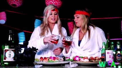 Broke Girls Guide - SAKE AND SUSH!