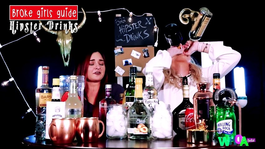 Broke Girls Guide - HIPSTER ALCOHOL x 2!