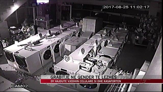 Grabitje në qendër të Lezhës - News, Lajme - Vizion Plus