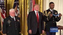 President Trump awards Medal of Honor to Retired U.S. Army Sergeant Gary Rose