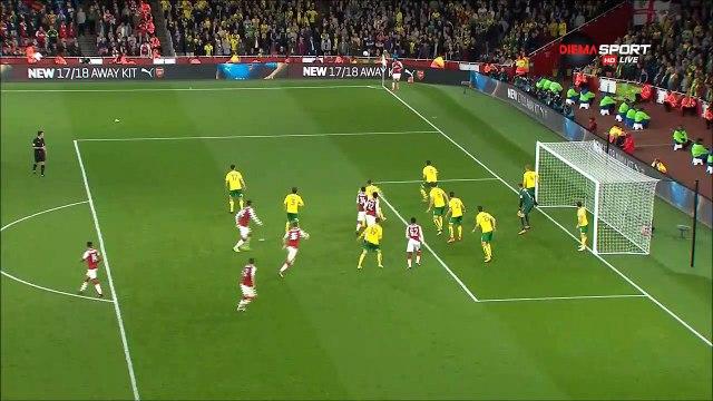 2-1 Edward Nketiah Goal England  Football League Cup  Round 4 - 24.10.2017 Arsenal 2-1 Norwich City