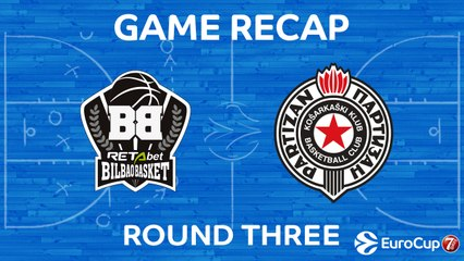 7Days EuroCup Highlights Regular Season, Round 3: Bilbao 92-96 Partizan