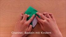 Origami Stern Schachtel Basteln Mit Papier