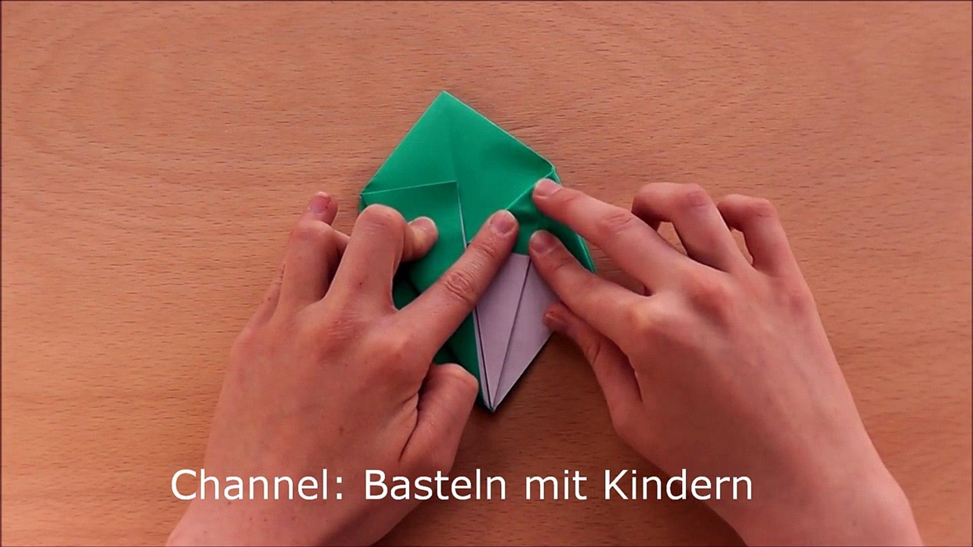 Origami Stern Schachtel Basteln Mit Papier Geschenkverpackung Weihnachten Falten Origami Box