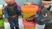 Playdoh Disney Frozen Sven Carrot Cake Shopkins Kawaii Kristoff Bakery Doll Food Cookie Swirl