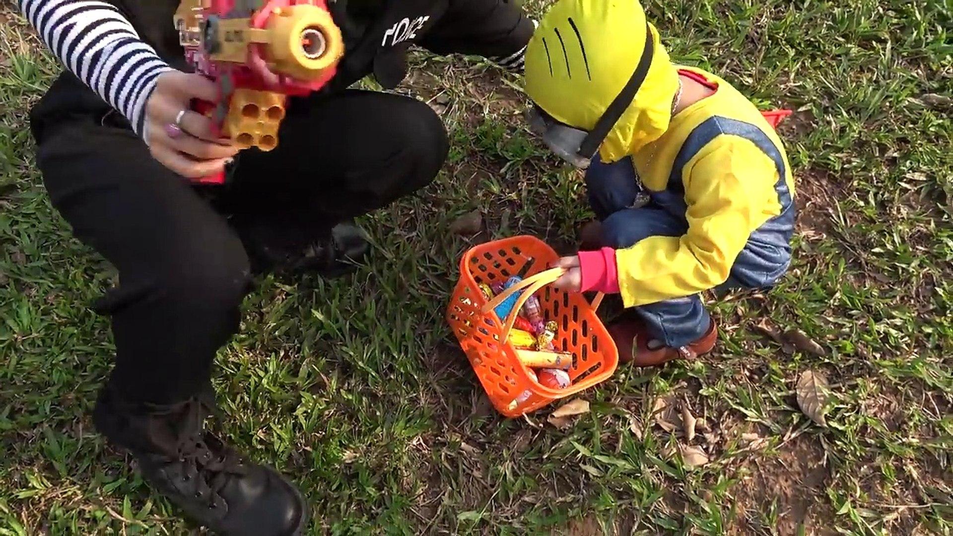 The Balloon Show For Kids – Săn Bóng Bay Lấy Đồ Chơi Với Minions ❤ Anan Toysreview TV ❤