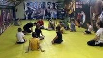 Смешанные единоборства ДЕТСКОЕ #MMA СПАРИНГ С ПАРТНЕРОМ ПАРТЕР УФА / Mixed Martial Arts MMA Children