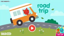 Fun Sago Mini Games - Kids Outdoor Amazing Driving Adventure Fun Playful Sago Mini Road Trip