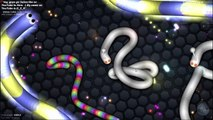 Slither.io - BECOMING THE BIGGEST SNAKE WITH // SLITHER.IO MULTIPLAYER (Slither.io awesome moments)