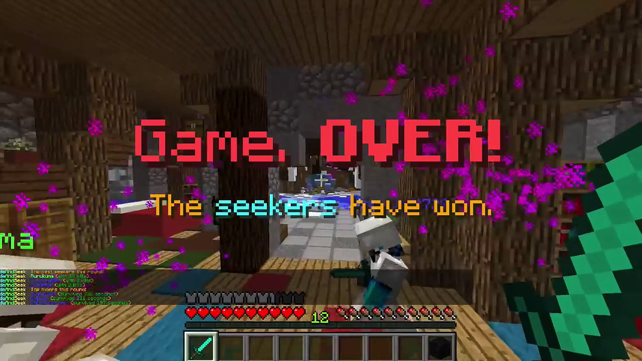 Minecraft / Hide and Seek! / Im such a bad hider / Gamer Chad Plays