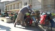 Alman Biyolog Çiften Bisikletle Dünya Turu