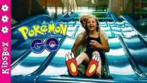 INDOOR PLAYGROUND ☀ Fun for Kids and Family ☀ Worlds Biggest Trampoline, Pokemon GO Episode 6