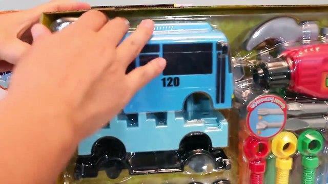 타요 꼬마버스 타요 만들기 공구 놀이 뽀로로 폴리 장난감 Tayo the Little Bus Tools Car Toys