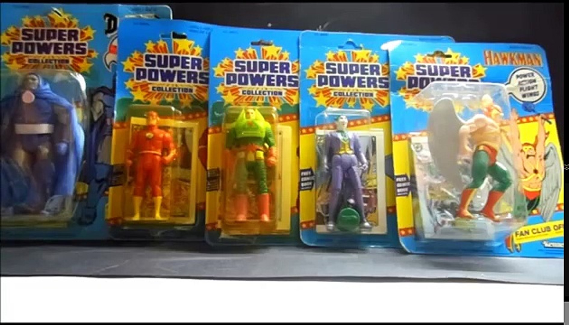 DC Super Powers ion figures by Kenner – Видео Dailymotion