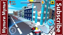 Cartoon about Lego City My City 2 (Police,Cars,Helicopter,Fire) Lego City Lego Video Game