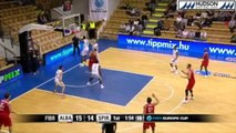 Highlights Alba Fehervar vs Proximus Spirou (60-72)