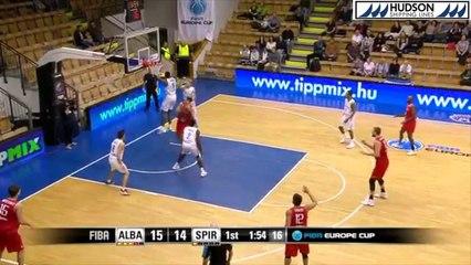 Highlights Alba Fehervar vs Proximus Spirou (60-72)