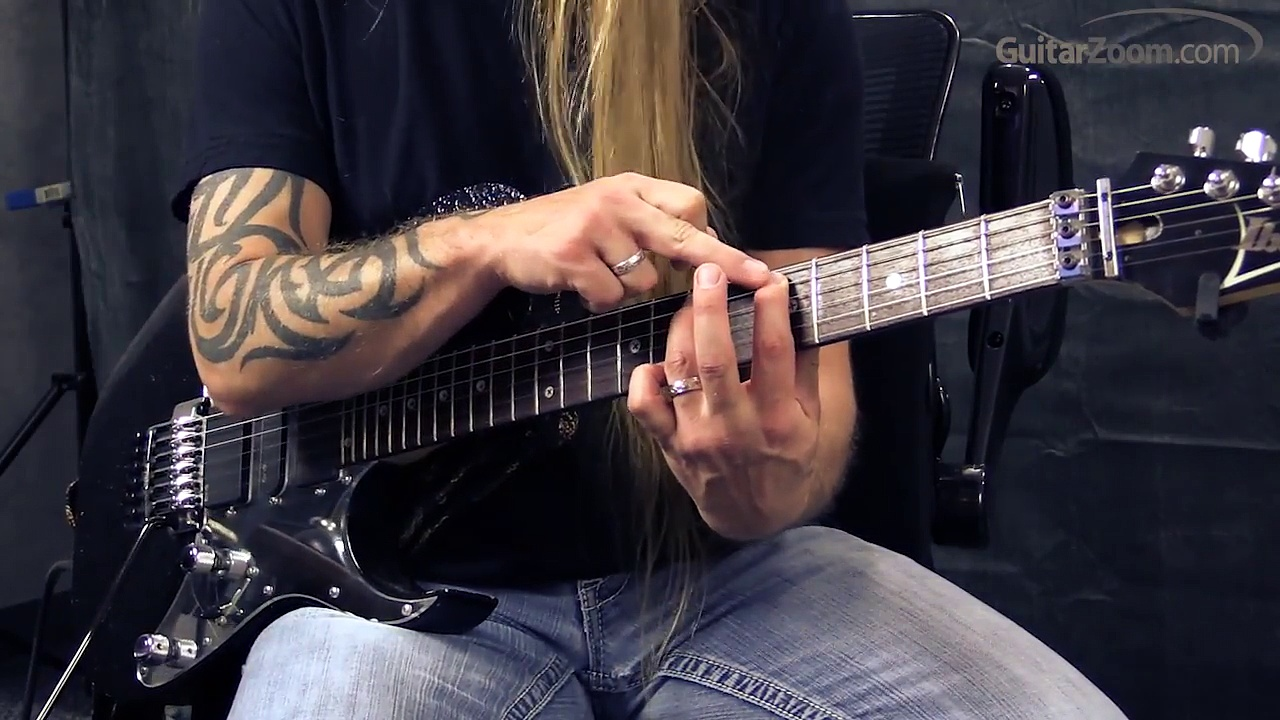 Steve Stine Guitar Lesson – Learn To Solo In 5 Minutes – 6 Note Soloing Technique