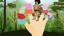 #Peppa Pig Crying VS #Mowgli Jungle Book Part 4 Peppa Pig 2017 Episode Crying Finger Nursery Rhymes