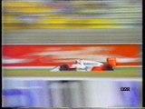 Gran Premio di Germania 1987: Intervista a Capelli, pit stop di Prost, N. Piquet, Mansell ed A. Senna e ritiro di Berger
