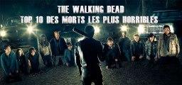 The Walking Dead : le Top 10 des morts horribles