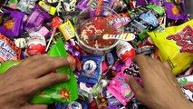 Go Away Spooky Candy Nursery Rhyme / A lot of Candy / Surprise Eggs