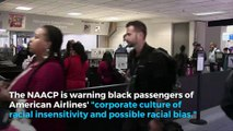 NAACP issues warning for black passengers flying with American Airlines