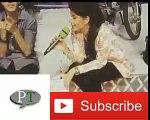 Fabiha Shehrazi Sing A Song In Jeeto Pakistan Infront Of Fahad Mustafa  Jeeto pakistan  Ptinews