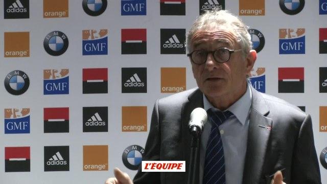 Rugby - XV de France : Novès «Bastareaud a l'air bien dans sa tête»