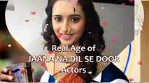 Real Ages of The Actors of Dil e Jaanam Episode 8 - video